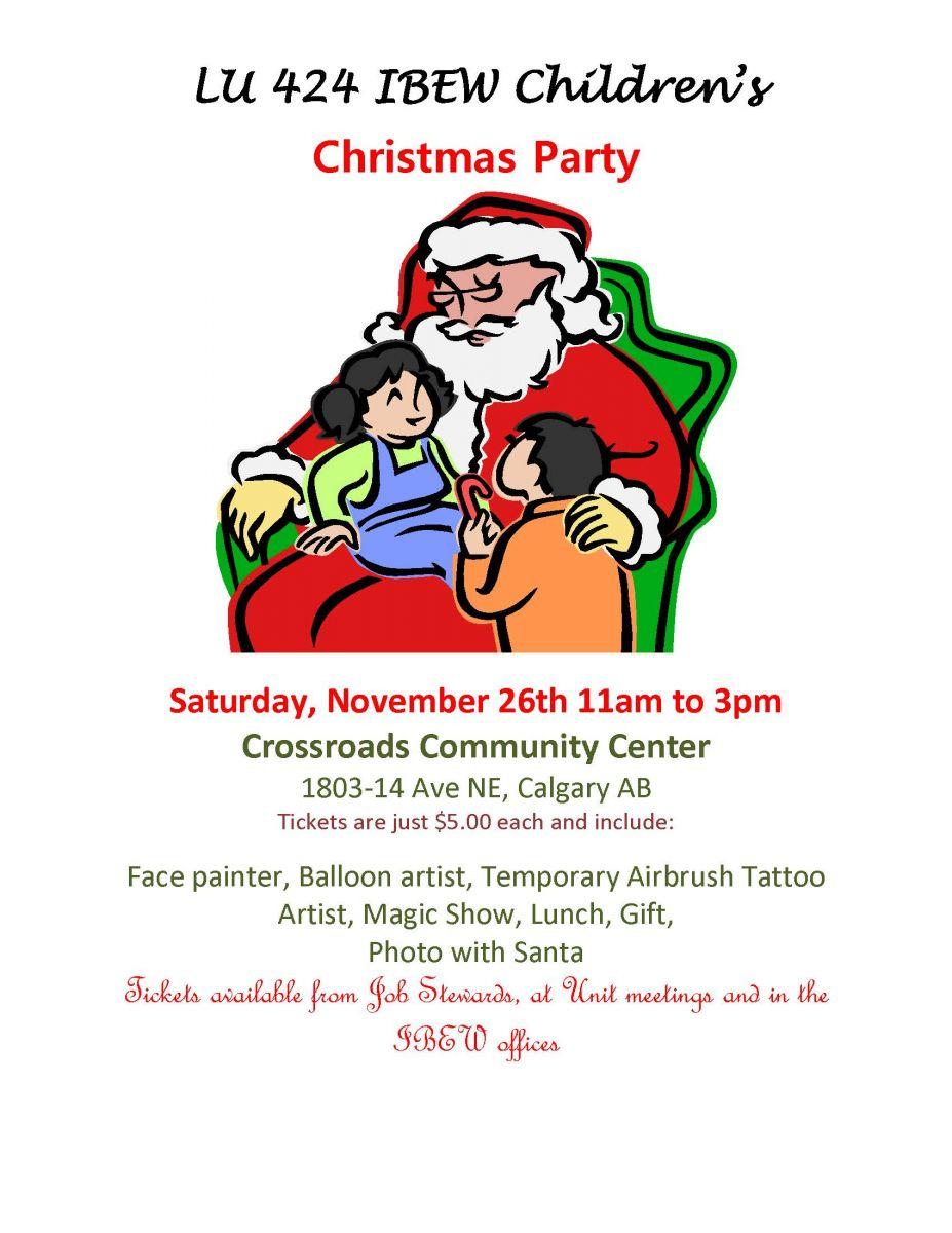 2016_Calgary_Kids_Xmas_Party_poster