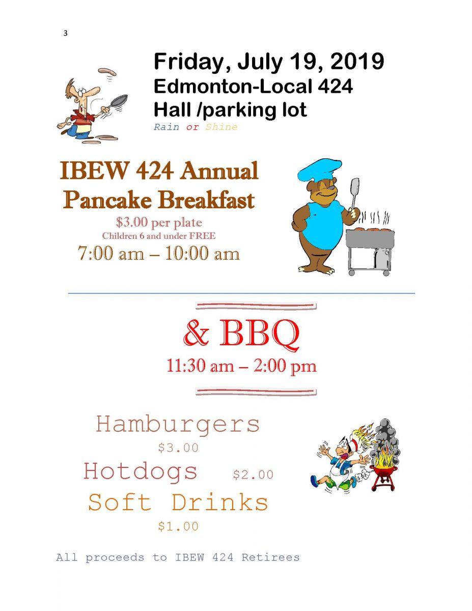 2019 Edmonton Pancake Bkfst