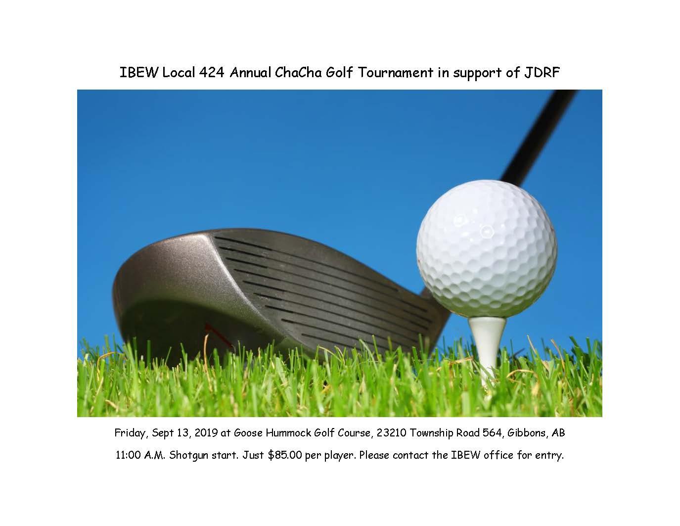 Memorial Golf Tourney